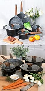 stone cookware sets