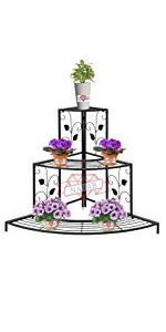 planter kolu flower pot stands metal planters iron plant Step tier Corner Rack shelf for plants Pot