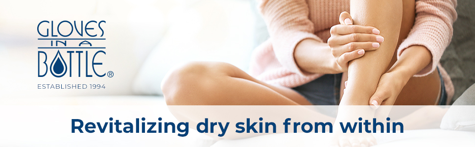 Revitalizing dry skin from within