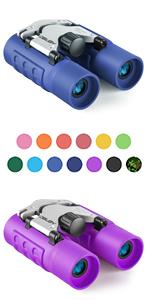 Obuby Real Binoculars for Kids Gifts Boys Girls Mini Compact Binocular Toys Telescope Bird Watching