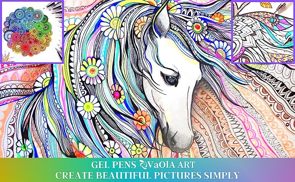 tween girls gifts 11-14 stationary set sparkle pens sparkly gel pens gel pens coloring