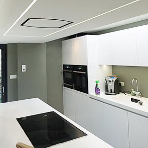 Kitchen cabinet Bright lights