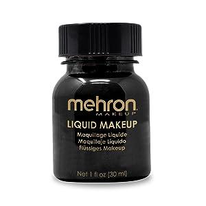 black mahron makeup