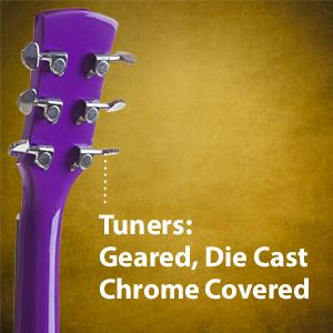 Hola Music HG-36PP 3/4 Acoustic Guitar Bundle Pack with strap, picks, bag, case truss rod, pickguard