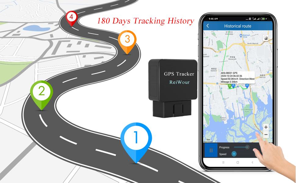 OBDII  Car GPS Tracker