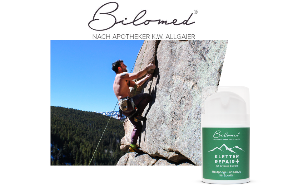Bilomed - Kletter Repair+ - Crema de manos con extracto de té verde - 50 ml