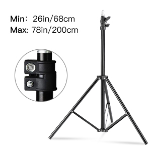 Tripod adjustable height
