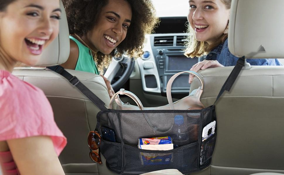 good car handbag holder