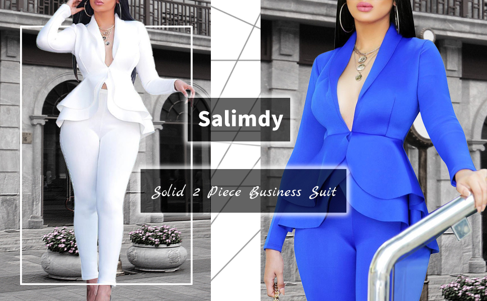 Sexy 2 Piece Business Outfits