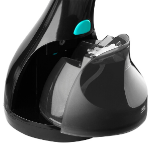Reliable Dash 150GHB Black Hand Held Garment Steamer with Fabric Brush