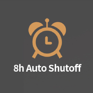 Safe design mug warmer 8h auto shutoff
