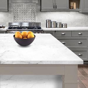 Instant Granite Italian White Marble Counter Top Film Self Adhesive Vinyl Laminate Counter Top