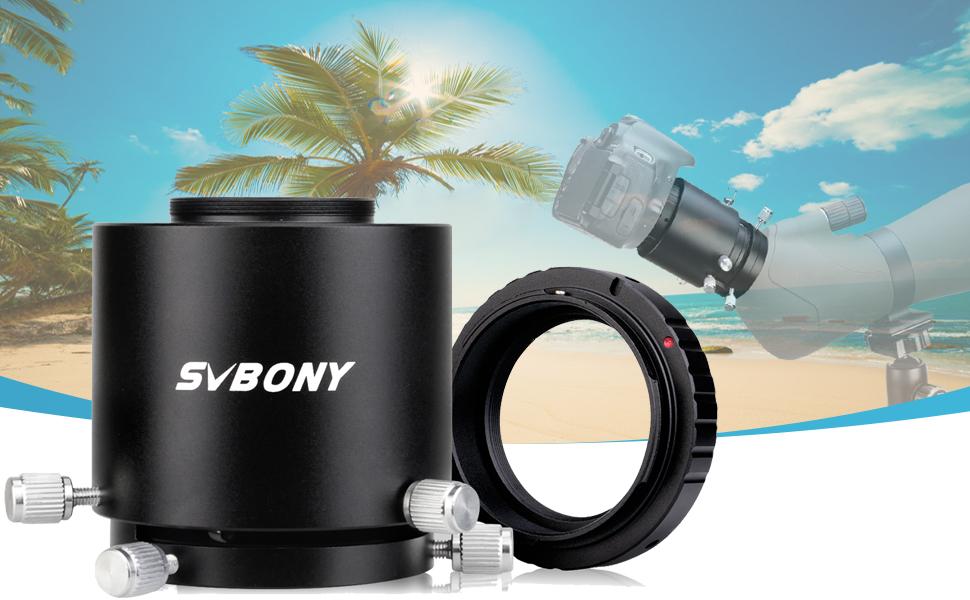 Svbony Sv123 Spektiv Kameraadapter Längenverstellbarer Kamera