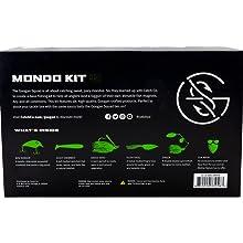 Catch Co Googan Squad Mondo Kit PRO   Mini Banger   Zinger   Grass Hero Jig   Filthy Frog   Necko