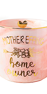 Housewarming Gifts New Home Mother Effing Homeowner Mug Funny Coffee Cup