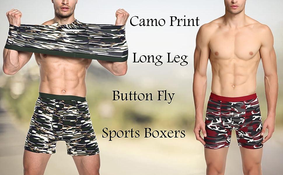 Nuofengkudu Hombre Boxers Largos Calzoncillos Abierta(3 Pack): Amazon.es: Ropa y accesorios