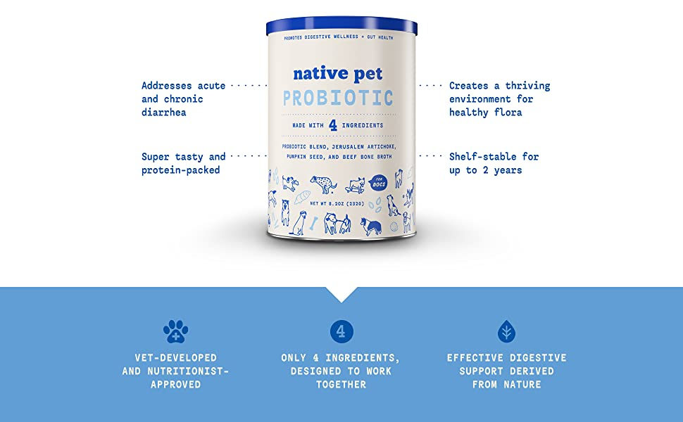 Probiotics for dogs, Probiotic for dogs, Probiotic Powder for Dogs, Dog Probiotic, Canine Probiotic