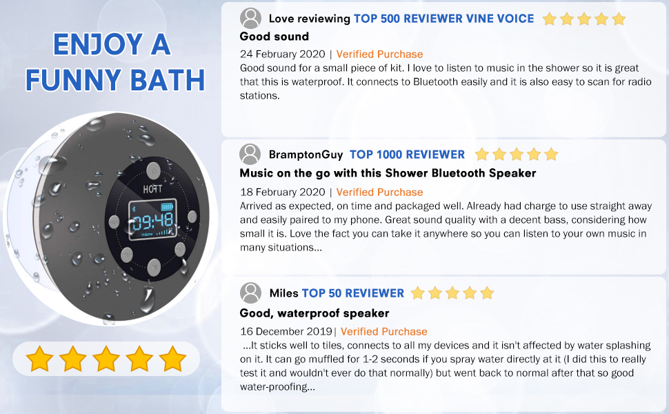amazon echo shower speaker instructions