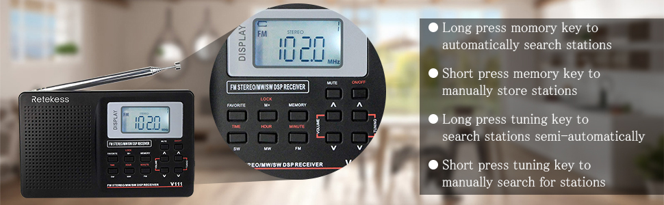 compact radio