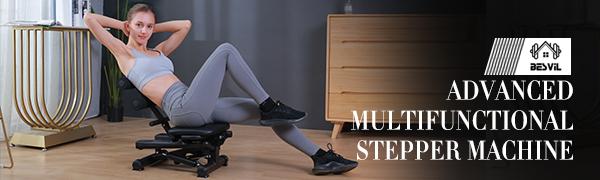FITNESS EXERCISE MACHINE STEPPER MINI HOME ADVANCED GYM INDOOR WOMAN STEPPER CLIMBER STEPPER HEALTH