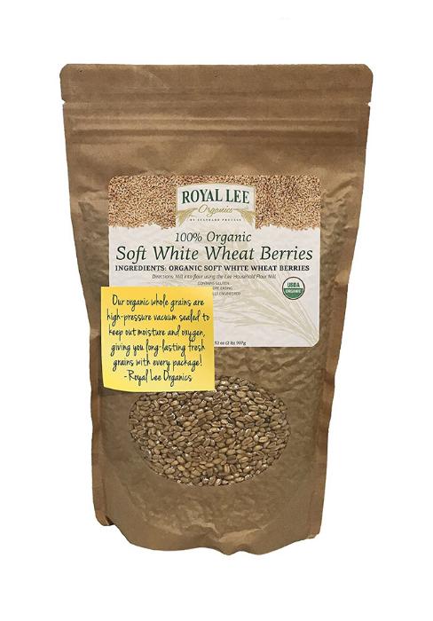 wheat berries white winter spring organic kosher natural pounds bulk dry dried kernal non-gmo