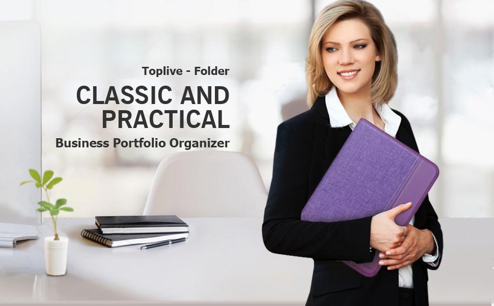 Toplive portfolio folder