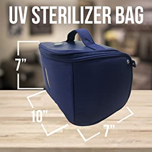 sanitizer bag uv disinfection box