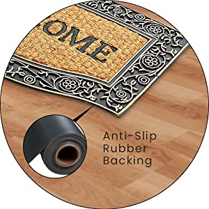 Anti-Slip Rubber Backing