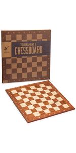 Husaria Staunton Tournament Chess Board, No. 6
