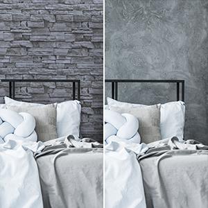 grey brick wallpaper peel and stick