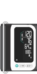 Upper Arm All in One Smart Connected Bluetooth Blood Pressure Monitor