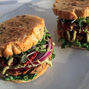 sunflour veggie burger
