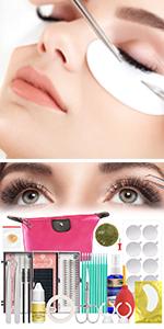 18PCS Eyelash Extension Glue Kit