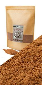 kokospalmsuiker kokosbloem suiker biologisch lage glycemische index keto koolhydraatarm zoetstof