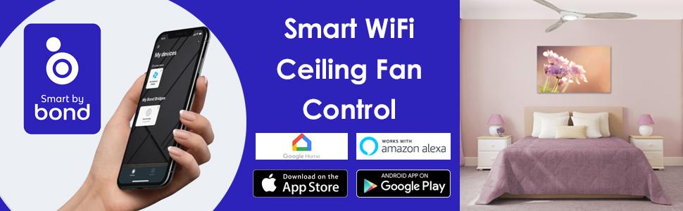 "Minka Aire Sleek F868L-WHF Sleek Flat White 60/"" LED Smart Ceiling Fan"