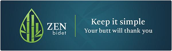 Zen Bidet logo banner