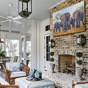 the matriarch staging african home decor living room sitting area