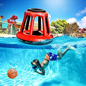 Pool hoop Basketball for kids toys swimming inflatable