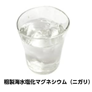 粗製海水塩化マグネシウム(ニガリ)