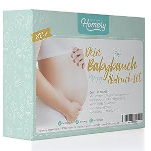 babybauch gips abdruck set abdruckset gipsabdruck baby bauch