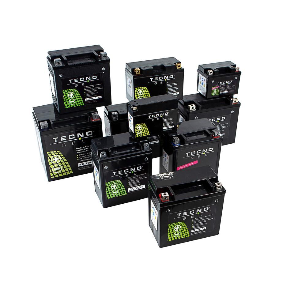 Tecno Gel Motorrad Batterie Ytx20l Bs Für Buell M2 S3 X1 1200 Bj 1997 2002 12v Gel Batterie 20ah Din 82000 175x87x155 Mm Inkl Pfand Auto