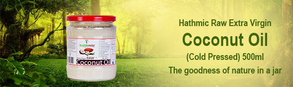 Hathmic Raw Extra Virgin Coconut oil