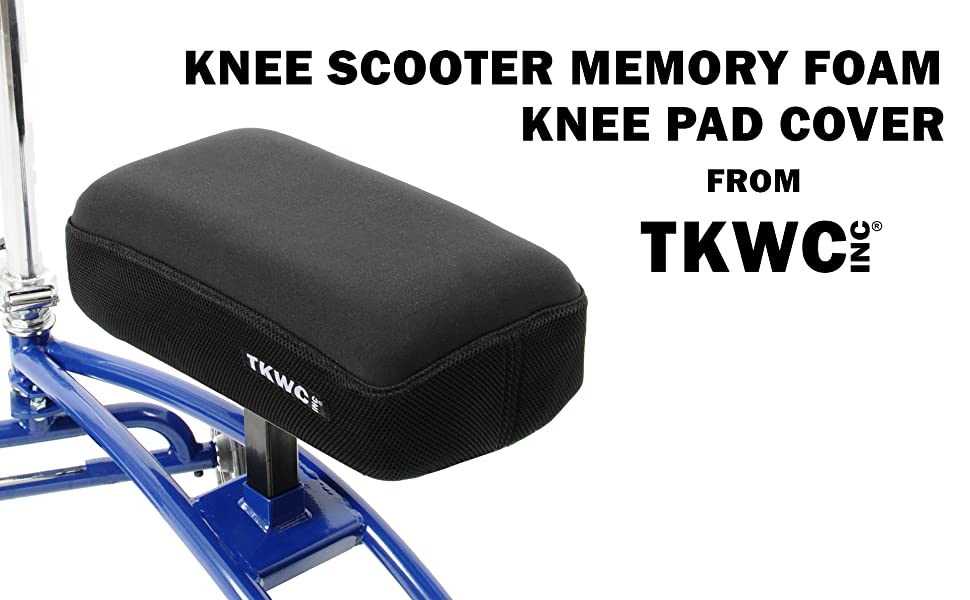 Knee Scooter Memory Foam Knee Pad Cover from TKWC INC