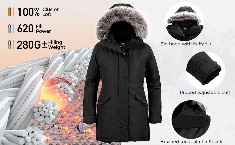 windproof warm jacket