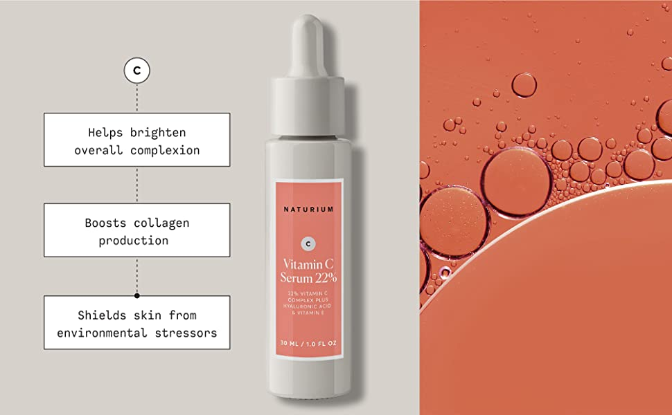 helps brighten overall complexion, boosts collagen production, shields skin from environmental stres