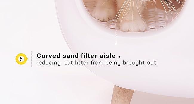 MS Cat Litter Box