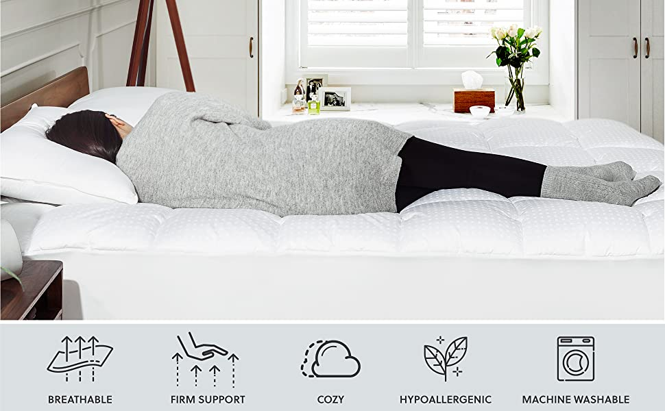 Bedsure Mattress Pad Features