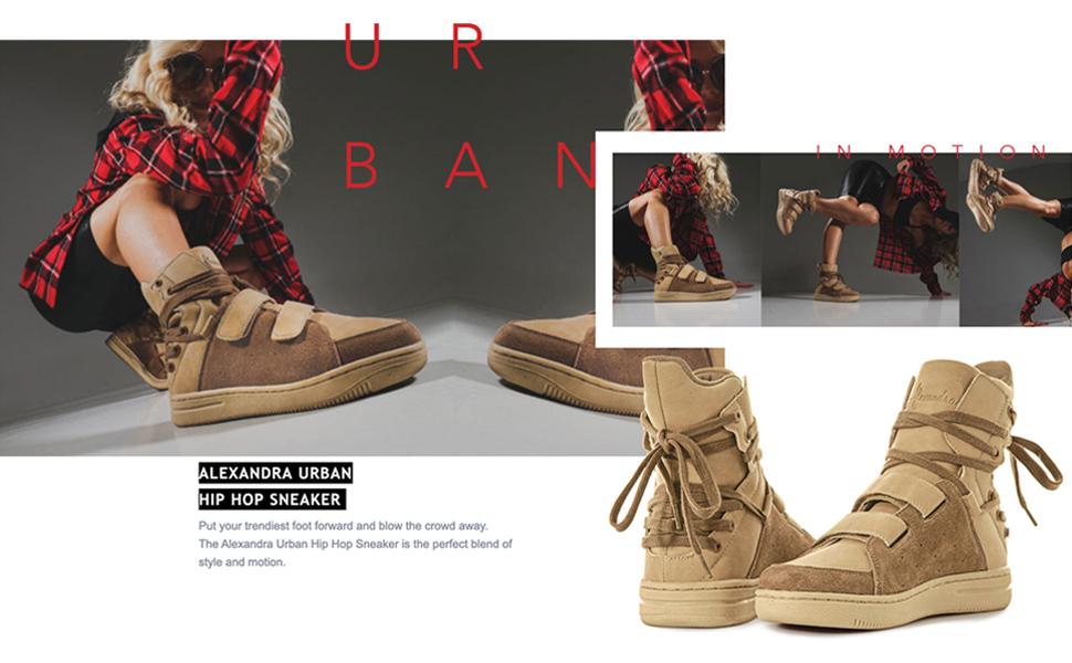Tan Sneakers, Tan Suede Leather Sneakers, Tan Lace Up Sneaker, Tan High Top Sneaker