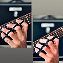 Increase the resistance with the second and third Riff BANDZ