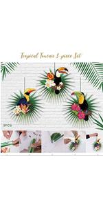 toucan paper birds